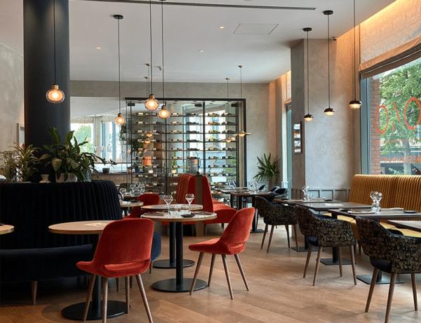 La salle de restaurant du 1040